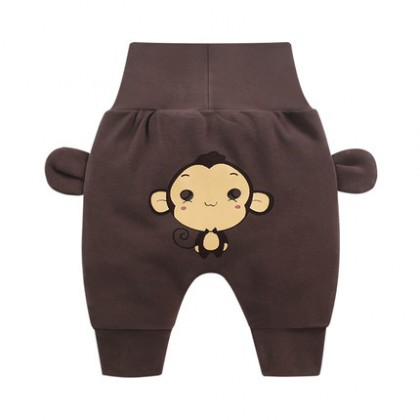Baby Cute Girl Boy Animal Theme Comfortable Leggings Long Pants Trousers