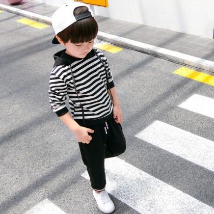 Kids Children Boy Korean Long-Sleeved Suit Spring Autumn Clothing Handsome