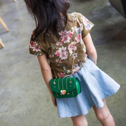 Kids Children Girl Princess Cute Little Fashion Messenger HandBag