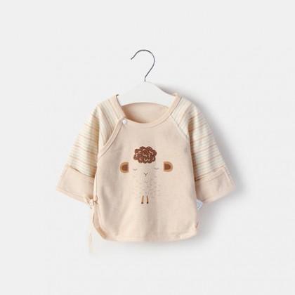 Baby Newborn Shirt Cotton Monk  Half Back Summer Clothes Baby Clothing