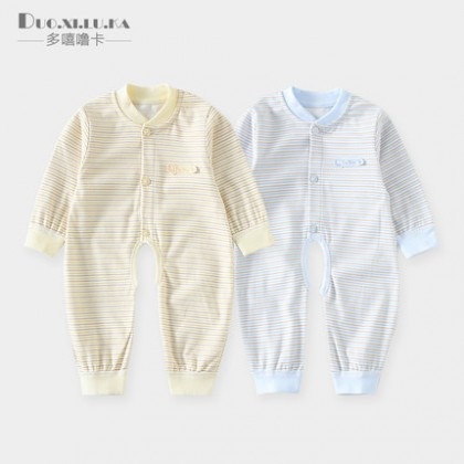 Baby Onesies Spring and Autumn Romper Cotton Two Pieces Baby Clothing Sleep Wear