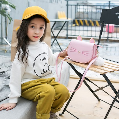 Kids Bag Girls Bag Princess Fashion  Mini Messenger Handbag Cute Kids Bag
