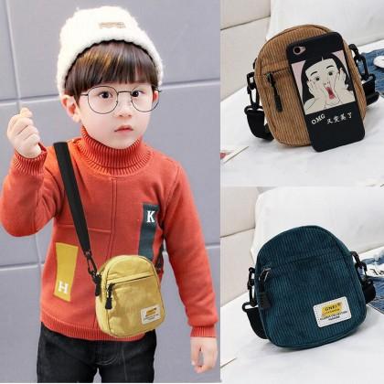 Kids Bag Boys Korean Version  Bags Children Messenger Shoulder Fashion Kids Bag