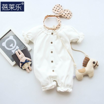 Baby Dress  Siamese Clothes Harbin  Spring Monk Clothes Suit Cute Baby Clothing