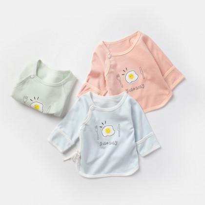 Baby Tops Children Newborn Half Back Monk Cute Shirts Cotton Baby Clothing Tops