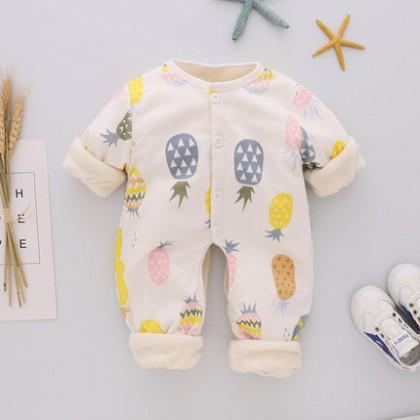 Baby Sleep Wears Thermal Newborn Onesies Winter Rompers Baby Clothing Sleep Wear