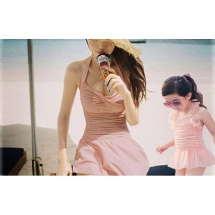 Baby Girls Swimwear Princess Children's Cute Korean Outfit Baby Clothing Swimwear