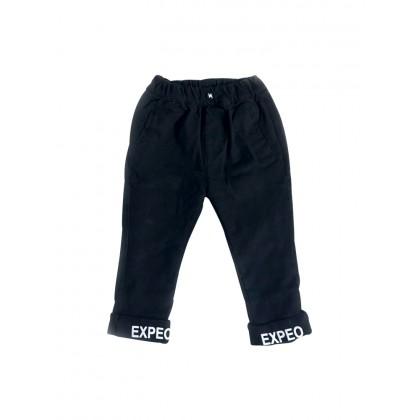 Kids Boys Bottoms Plus Velvet Jeans Korean  Pants Trousers Kids Clothing Bottoms
