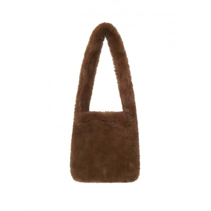 Kids Girls Bag Winter New Soft Handbags Girls Plush Messenger Pouch Bag Child Bag