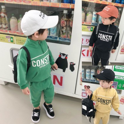 Kids Boys Sets Children Pants Summer Trousers Two Piece Suit Sportswear Clothes