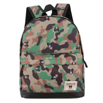 Kids Bags Boys Children's School Bag Canvas Backpack Little Army Style New