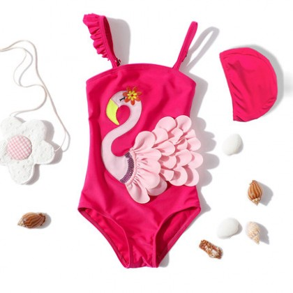 Baby Clothing Swimwear Girls Swimming Wear One Piece Summer Beach Attire