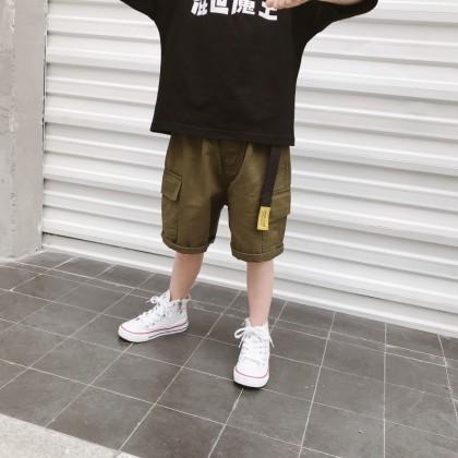 Kids Clothing Boys Bottoms Short Pants Children's Male Casual Summer Outwear