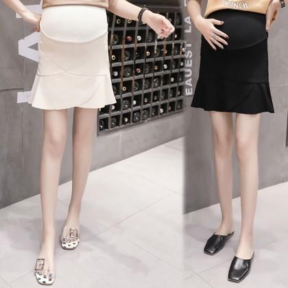 Maternity Clothing Skirts Fishtail Cotton Stomach Lift Pregnancy Postpartum Wear