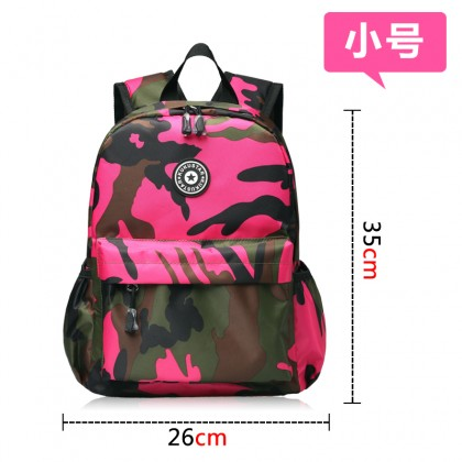 Kids Bags Boys Camouflage Style Children's Backpack Travel School Bags