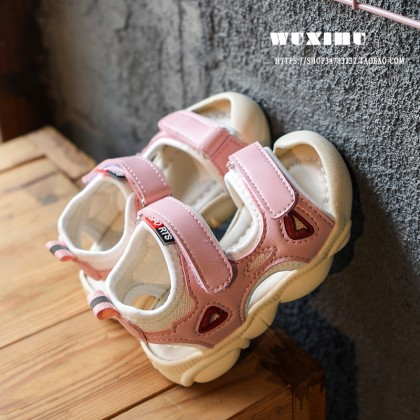 Kids Shoes Boys Children's Soft Bottom Rubber Sandals Casual Male  Footwear