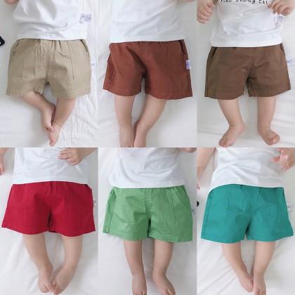 Baby Clothing Bottoms Children's Summer Newborn Cute Cotton  Shorts Outwear