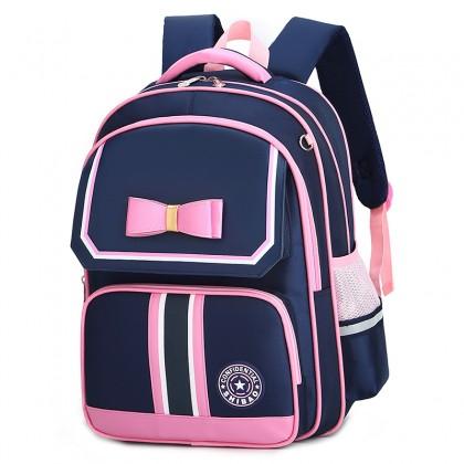Kids Bags Girls  School Bag Children's Large Backpack Bow Design