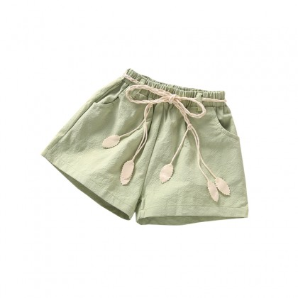 Kids Clothing Bottoms Cotton Summer Spring Shorts Children's Female Outfits
