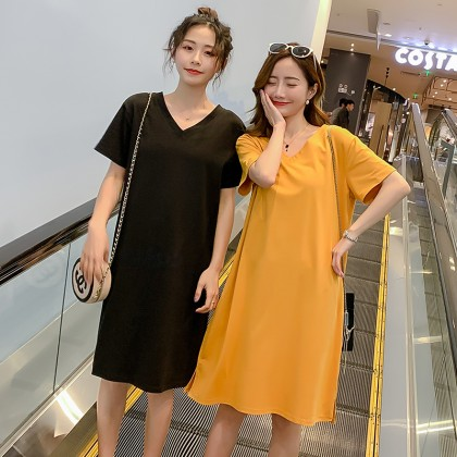 Maternity Clothing Loose Soft Cotton Pregnancy Female Summer Wear