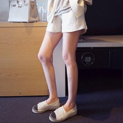 Women Cotton Linen Casual Short Maternity Pants