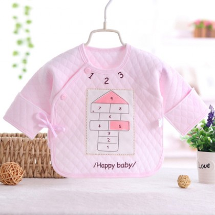 Baby Boy Girl Cute Cotton Winter Happy Day Long Sleeve T-Shirt Tops