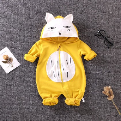 Baby Girl Boy Cute Animals Totoro Cosplay Long Sleeve Pajamas Sleepwear