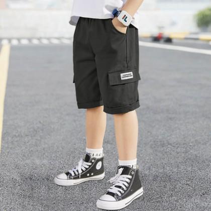 Kids Clothing Children Boys Cargo Short Pants Side Pocket